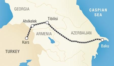 Баку-Тбилиси-Карс